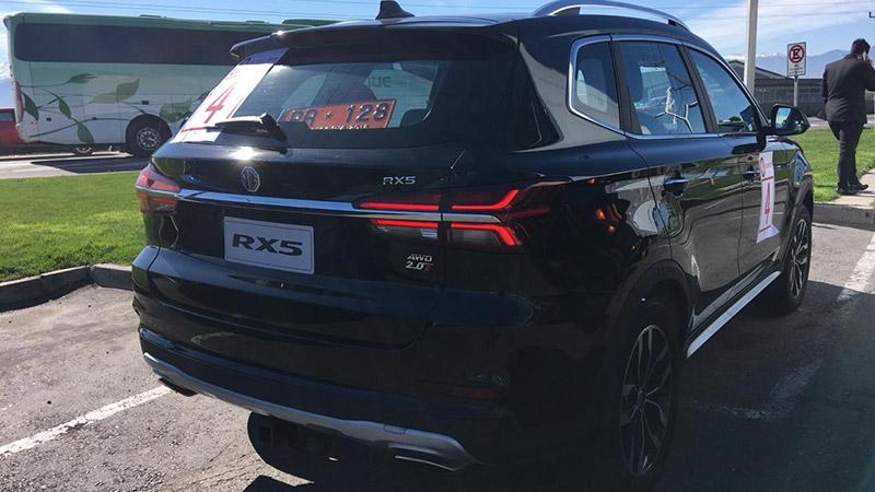 nuevo MG RX5